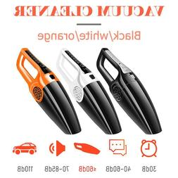 120W Car Vacuum Cleaner 3600mbar Wet Dry Dual Use Auto Mini