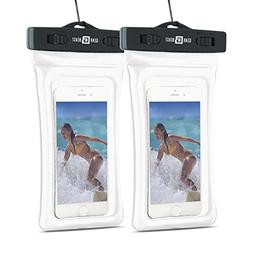 2 Pack Gear Beast Heavy Duty Universal Cell Phone Dry Bag IP