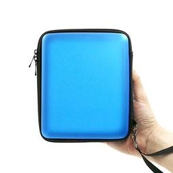 ADVcer 2DS Case, EVA Waterproof Hard Shield Protective Carry