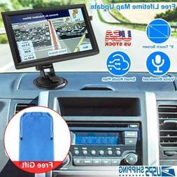 Portable Car GPS Navigation Auto Navigator Nav 8GB 256MB RAM