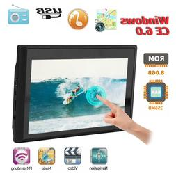 7 Inch 256MB+8G Touch Screen Car Truck GPS Navigation Portab