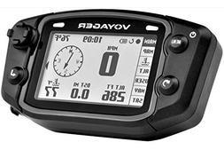 Trail Tech 912-4017 Voyager Stealth Black Moto-GPS Computer