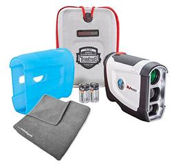Bushnell Tour V4  Golf Rangefinder PATRIOT PACK BUNDLE - wit