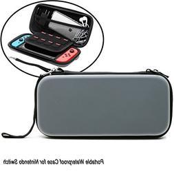 CenterZ Nintendo Switch Carrying Case, EVA Waterproof Hard S