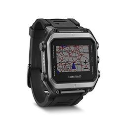 Garmin - Epix Gps Mapping Watch - Silver/black
