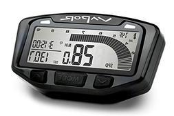 Trail Tech 752-120 Black Vapor Digital Speedometer Tachomete