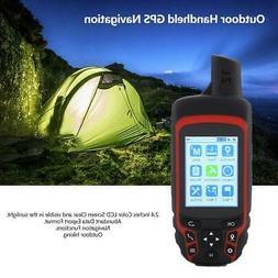 2.4 inch LCD Handheld GPS Tracker Navigator Sat Nav Hiking W
