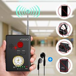 Anti-spy Camera Bug RF Signal Detector , Dooreemee Wireless