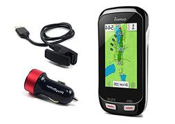 Garmin Approach G8 Handheld Golf GPS with PlayBetter USB Car