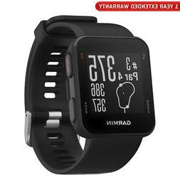 Garmin Approach S10 - Lightweight GPS Golf Watch - Black w/