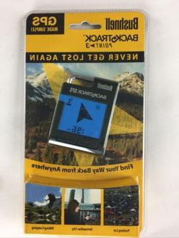 Bushnell BackTrack Point 3 Handheld Pocket Size GPS  Never G