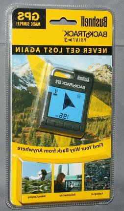 Bushnell BackTrack Point-3 Simplified Handheld GPS Compass T
