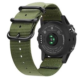 Fintie Band for Garmin Fenix 5X Plus/Fenix 3 HR Watch, 26mm