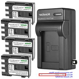 Kastar Battery Wall Charger for Canon NB-2L CB-2LW & Canon E