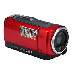 Foncircle Video Camcorder HD 1080P 16 Million Pixels Camcord