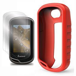 TUSITA Case with Screen Protector for Garmin Oregon 600 600t