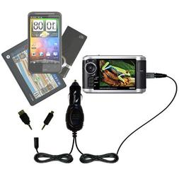 Double Port Micro Gomadic Car / Auto DC Charger suitable for