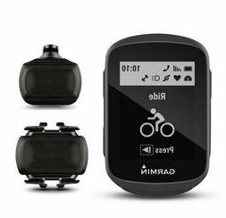 Garmin Edge 130 Speed and Cadence Bundle, Compact and Easy-t