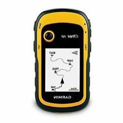 Garmin eTrex 10 Handheld GPS Navigator - Black/Yellow