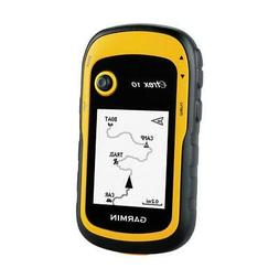 Garmin eTrex 10 Handheld GPS Unit, IPX7 Water Rating, Yellow