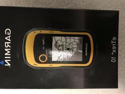Garmin eTrex 10 Handheld GPS Unit, IPX7 Water Rating, Yellow