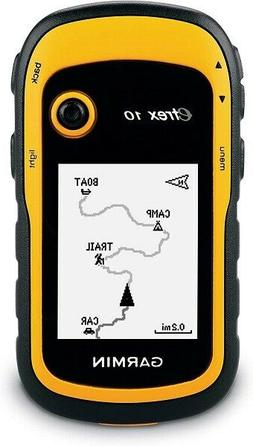 Garmin eTrex 10 Worldwide Handheld GPS Navigator - Free ship