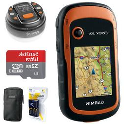 Garmin eTrex 20x Handheld GPS  with 32GB Accessory Bundle