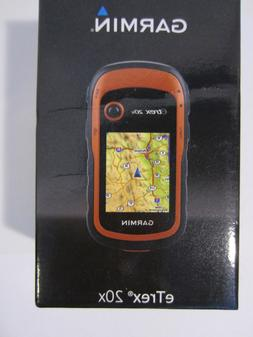 Garmin eTrex 20X Handheld GPS Unit, IPX7 Water Rating, Orang