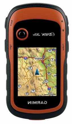 Garmin eTrex 20x Handheld GPS with Color Screen and 3.7GB of