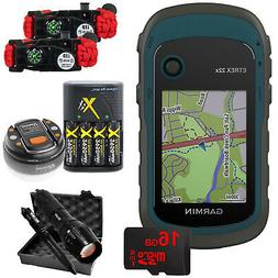 Garmin eTrex 22x: Handheld GPS with 16GB Camping & Hiking Bu