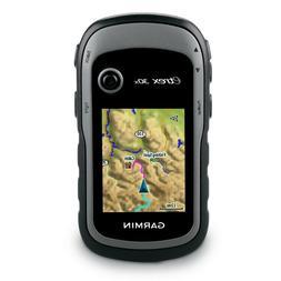 Garmin eTrex 30x Handheld GPS, 3.7GB Topo Bundle w/BirdsEye