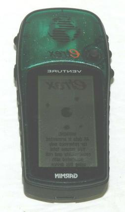 Garmin eTrex Venture HC Handheld GPS Powers on Biking Hiking