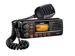 Full-Featured Fixed Mount VHF Marine Radio-Black