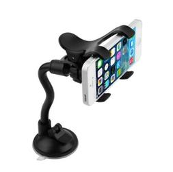 Ramtech Flexible Car Windshield Suction Mount Dual Clip Hold