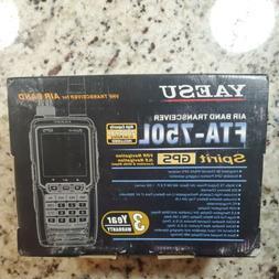 Yaesu FTA-750L Handheld Nav/Com GPS Transceiver w/ Li-ion Ba