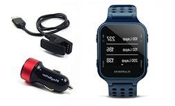 PlayBetter Garmin Approach S20  Golf GPS Watch with USB Car