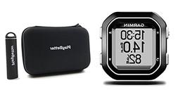 Garmin Edge 25 with PlayBetter Portable USB Charger, Hard Ca