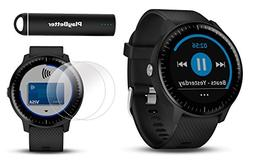 Garmin vivoactive 3 Music GPS Smartwatch Power Bundle | Incl