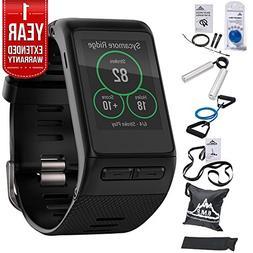 Garmin  vivoactive HR GPS Smartwatch, Regular Fit - Black w/