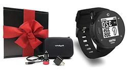 Golf Buddy Voice X  Gift Box Bundle | Includes Handheld Audi
