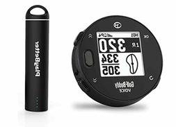 Golf Buddy Voice X with PlayBetter Portable Charger Bundle |