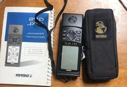 Garmin GPS 12XL Handheld Bundle. Manual, Case. Free Shipping