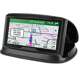 GPS Holder for Car, Cell Phone Holder Car Dashboard, Reusabl