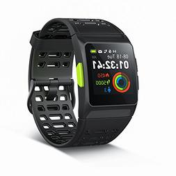 GPS Running Watch,P1 Smart Watch HRV Analysis Heart Rate/Sle