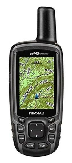 Garmin GPSMAP 64st, TOPO Canada with High-Sensitivity GPS an