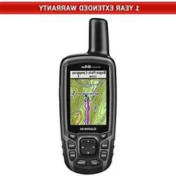 Garmin GPSMAP 64st Worldwide Handheld GPS + 1-Year Extended