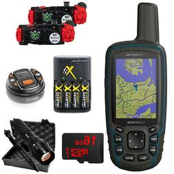 Garmin GPSMAP 64x Handheld GPS With Preloaded USA TOPOActive
