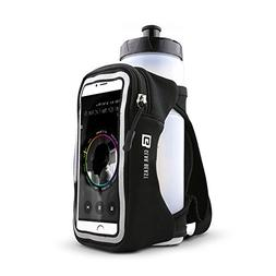 Gear Beast Handheld Running Water Bottle  With Clear Touchsc