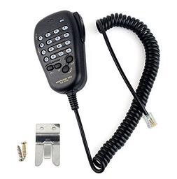 AOER Handheld / Shoulder Mic for 6-Pin Yaesu Mobile Radio FT