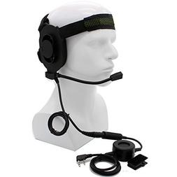 HD01 Z Tactical Bowman Elite II Headset with Waterproof PTT